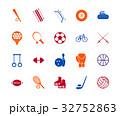 スポーツ アイコン セットのイラスト 32752863