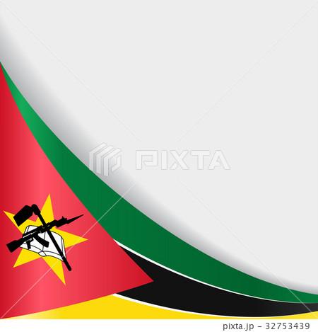 Mozambique flag background. Vector illustration.のイラスト素材 [32753439] - PIXTA