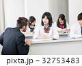 外国人教師 女子高校生 授業の写真 32753483