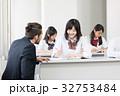外国人教師 女子高校生 授業の写真 32753484