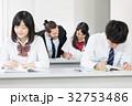外国人教師 女子高校生 授業の写真 32753486