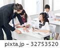 外国人教師 女子高校生 授業の写真 32753520