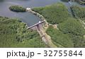 福岡県若宮市の力丸ダム[旧名]八木山川ダムを空撮 32755844