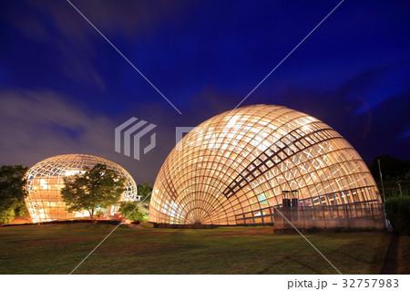 笛吹川フルーツ公園の夜景 32757983