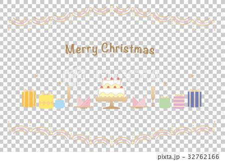 カード素材-クリスマス1 32762166