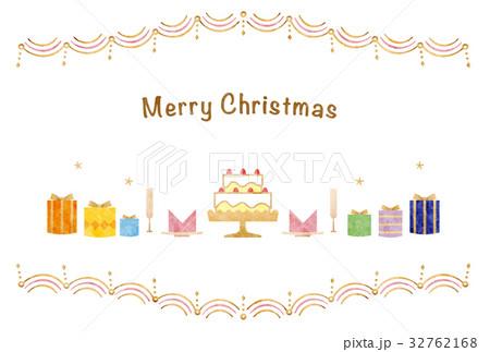 カード素材-クリスマス1(テクスチャ) 32762168