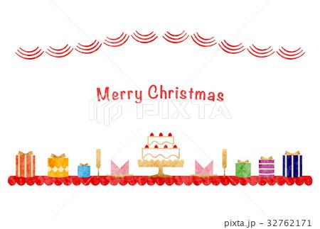 カード素材-クリスマス2(テクスチャ) 32762171