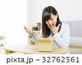 女性 タブレット 通信販売の写真 32762561