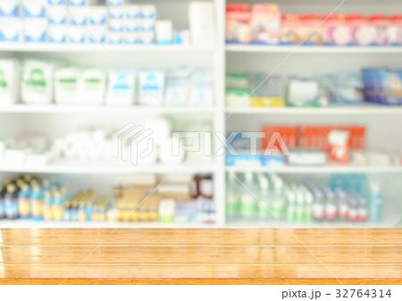 wooden drug storeの写真素材 [32764314] - PIXTA