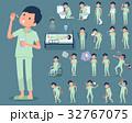 flat type patient men_sickness 32767075