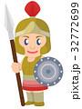 古代ギリシャの兵士 32772699