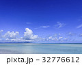 竹富島 コンドイビーチ 海の写真 32776612