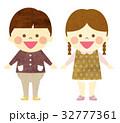 幼児 女の子 男の子のイラスト 32777361