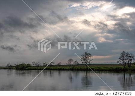 雨が止んだ夏の湿原7 32777819