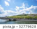 ソーヌ川 ノートルダム大聖堂 夏の写真 32779628