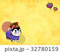 張り子犬 干支 戌のイラスト 32780159