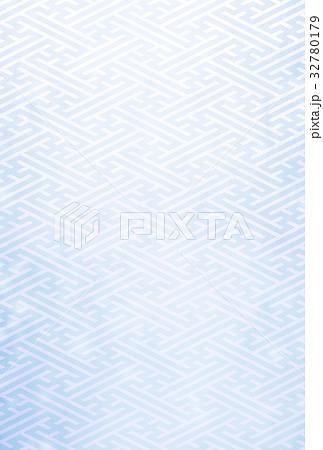 紗綾形(背景素材) 32780179