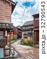 ひがし茶屋街 金沢 石畳の写真 32790543