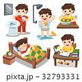 少年 キュート 可愛いのイラスト 32793331