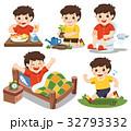 少年 キュート 可愛いのイラスト 32793332