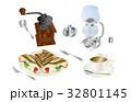 今日のスイーツコーヒーとクレープ 32801145