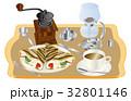 今日のスイーツコーヒーとクレープ 32801146