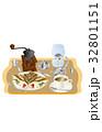 今日のスイーツコーヒーとクレープ 32801151