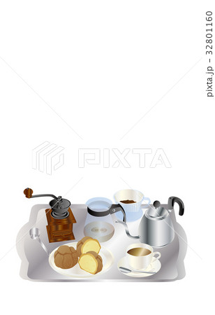 今日のスイーツコーヒーとシュークリーム 32801160