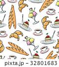 デザート パターン 柄のイラスト 32801683