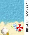 リゾート 夏 ビーチ 32805954