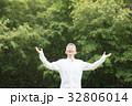 シニア 男性 幻想 ネガティブ 32806014