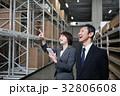 倉庫 男性 女性の写真 32806608
