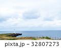 残波岬 岬 海の写真 32807273