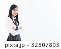 女子高生 高校生 女性の写真 32807803