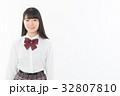 女子高生 女性 制服の写真 32807810