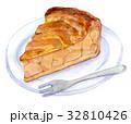 水彩イラスト 食品 アップルパイ 32810426