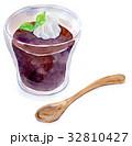 水彩イラスト 食品 コーヒーゼリー 32810427