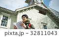 男性 時計台 観光の写真 32811043