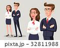 ビジネス 人々 人物のイラスト 32811988