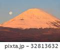 富士山 紅富士 世界遺産の写真 32813632