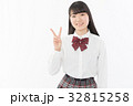 女子高生 高校生 人物の写真 32815258