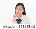 女子高生 高校生 女性の写真 32816348