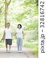 シニア 新緑 人物の写真 32816742