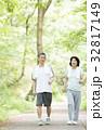 シニア 新緑 人物の写真 32817149