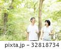 シニア 人物 夫婦の写真 32818734