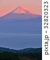 富士山 世界遺産 朝焼けの写真 32820323