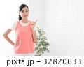 フィットネス 女性 エクササイズの写真 32820633