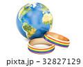 ゲイ 同性愛 レインボーのイラスト 32827129