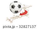 サッカー 日本国 ジャパニーズのイラスト 32827137