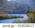 奥四万湖 四万ブルー 四万川ダムの写真 32828013